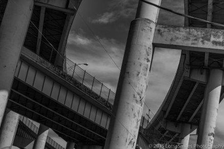 Freeway interchange, Portland