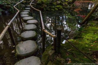 Tenjuan Temple garden in Kyoto